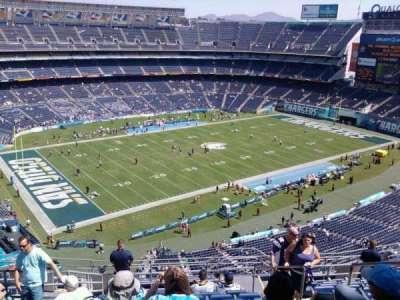 Qualcomm Stadium section V30