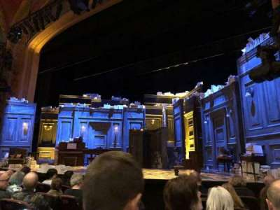 American Airlines Theatre, section: Orch, row: F, seat: 6
