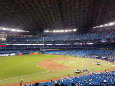 Rogers Centre, section: 233L, row: 9, seat: 108