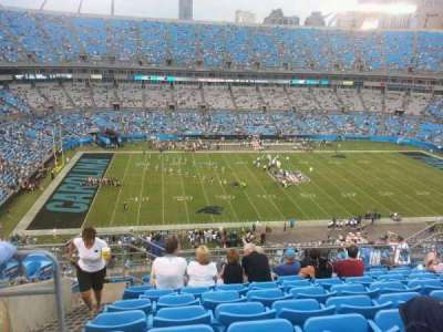 Bank of America Stadium section 544
