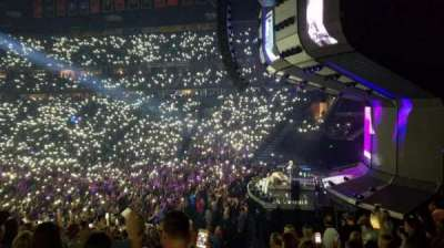 Bridgestone Arena, section: 107, row: J, seat: 4