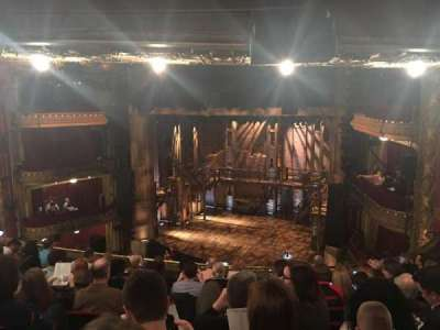 PrivateBank Theatre, section: Mezzanine R, row: J, seat: 6