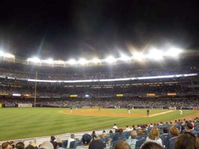 Yankee Stadium, section: 129, row: 12, seat: 15