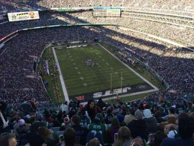 MetLife Stadium section 328