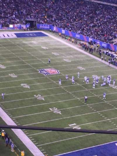 MetLife Stadium, section: 305, row: 7