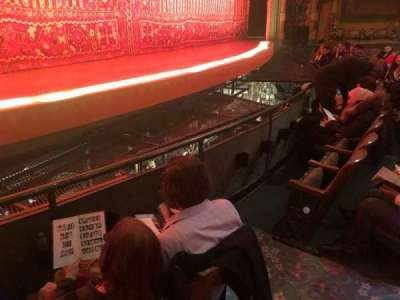 New Amsterdam Theatre, section: Orchestra, row: C, seat: 9