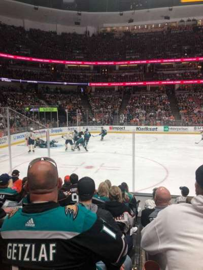 Honda Center  section 210