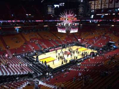 American Airlines Arena, section: 328, row: 01, seat: 07