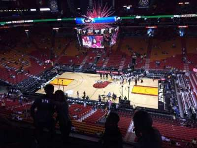 American Airlines Arena, section: 323, row: 04, seat: 12