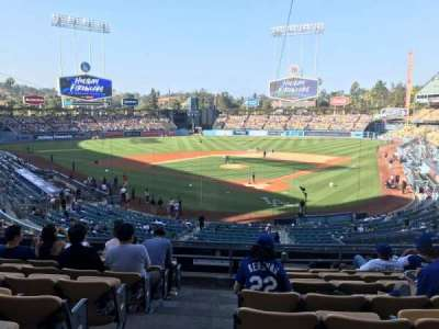 Dodger Stadium section 105LG