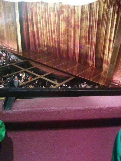 Vivian Beaumont Theater, section: Loge, row: A, seat: 501