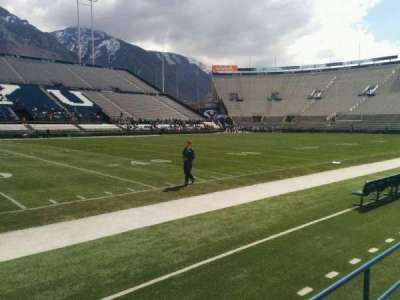 LaVell Edwards Stadium, section: 7, row: 2, seat: 1