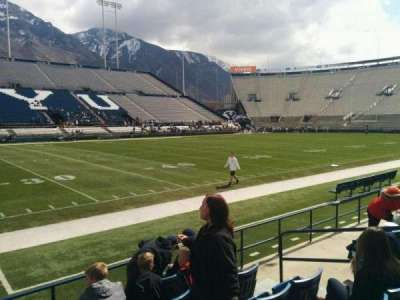 LaVell Edwards Stadium, section: 7, row: 6, seat: 7