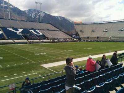 LaVell Edwards Stadium, section: 8, row: 8, seat: 2