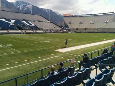 LaVell Edwards Stadium, section: 8, row: 5, seat: 8