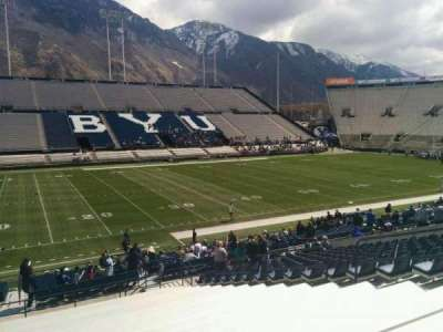 LaVell Edwards Stadium, section: 8, row: 28, seat: 10