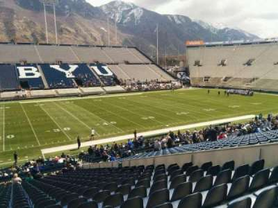 LaVell Edwards Stadium, section: 7, row: 35, seat: 10