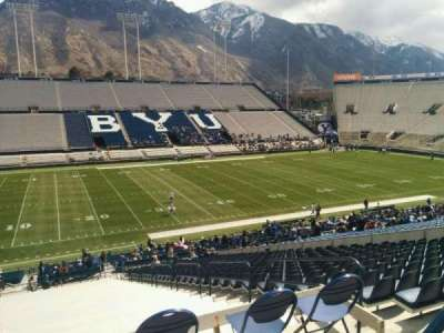 LaVell Edwards Stadium, section: 108, row: 1, seat: 6