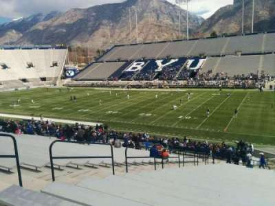 LaVell Edwards Stadium, section: 1, row: 37, seat: 1
