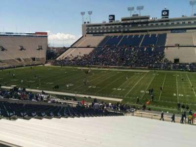LaVell Edwards Stadium, section: 132, row: 1, seat: 28