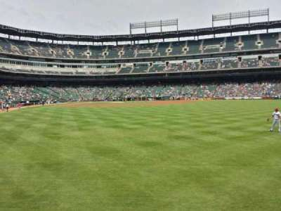 Globe Life Park in Arlington section 46