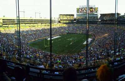 Lambeau Field, section: 476, row: 3, seat: 12