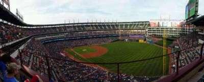Globe Life Park in Arlington, section: 341, row: 2, seat: 16