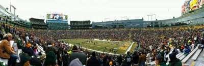 Lambeau Field section 109