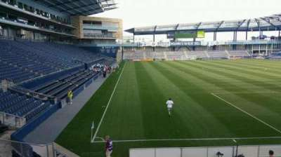 Children's Mercy Park, section: 116, row: 13, seat: 8