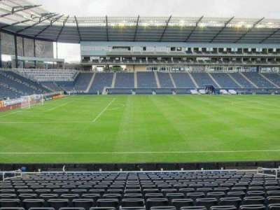 Children's Mercy Park, section: 127, row: 16, seat: 11