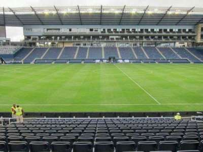 Children's Mercy Park, section: 129, row: 16, seat: 11