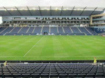 Children's Mercy Park, section: 130, row: 17, seat: 12