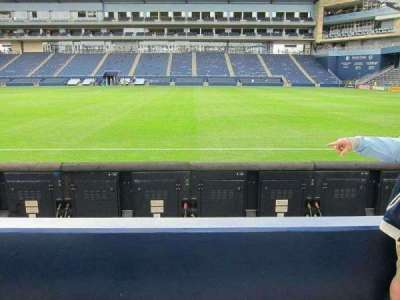 Children's Mercy Park, section: M1, row: 03, seat: 14