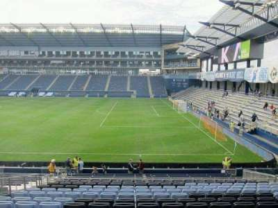 Children's Mercy Park, section: 133, row: 22, seat: 10