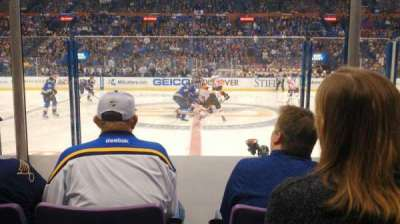 Scottrade Center, section: 116, row: E, seat: 10