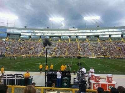 Lambeau Field, section: 120, row: 7, seat: 15