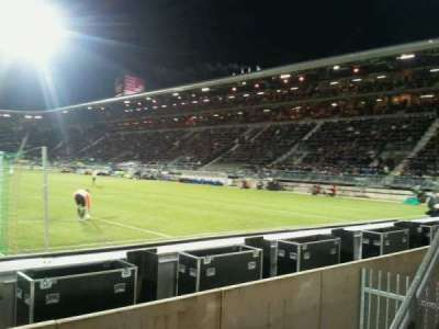 Kyocera Stadion section vak-W