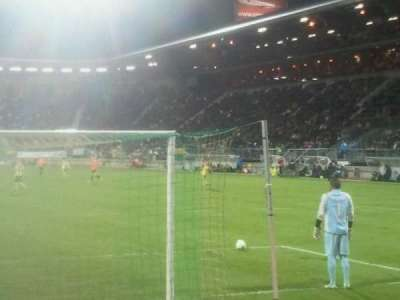 kyocera stadion, section: vak - w, row: 1, seat: 6