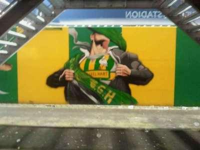 kyocera stadion, section: midden noord