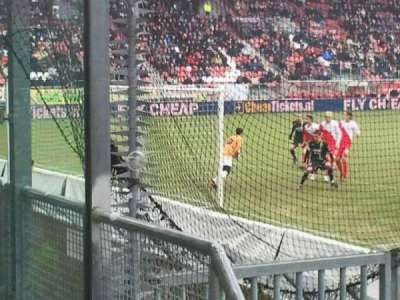 Stadion Galgenwaard, section: vak-v, row: 1, seat: 6