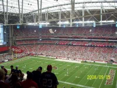 University of Phoenix Stadium section 438
