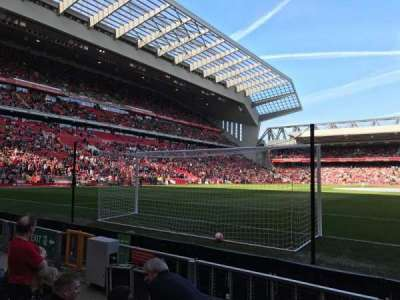 Anfield, section: 105, row: 4, seat: 95