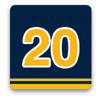 20 photos with the Buffalo Sabres at home