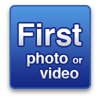 Your first photo or video!