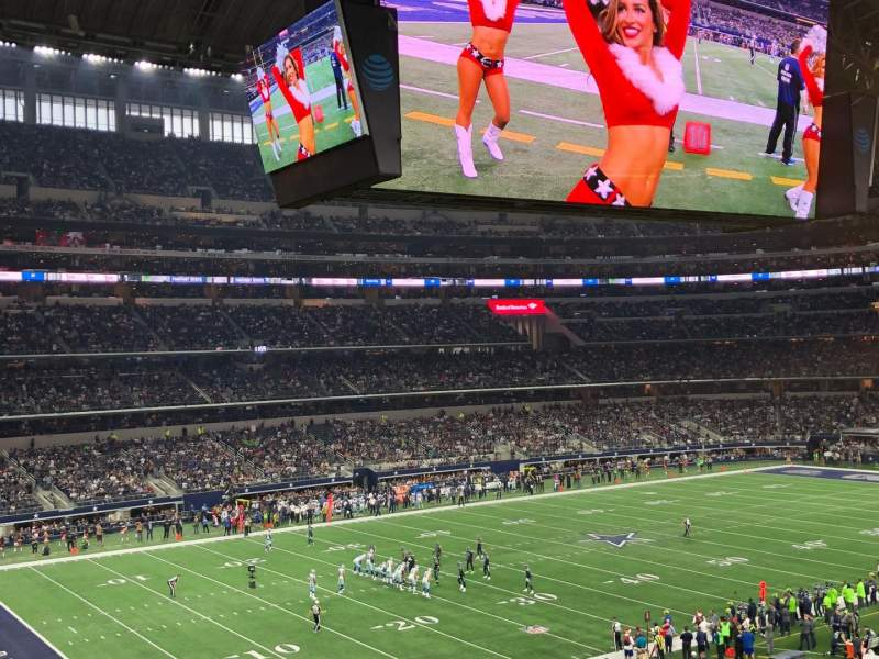 AT&T Stadium, section: 241, row: 13, seat: 3