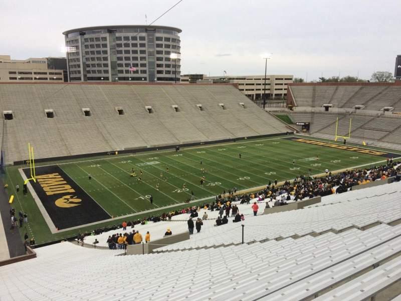 Kinnick Stadium, section: 131, row: 77, seat: 16