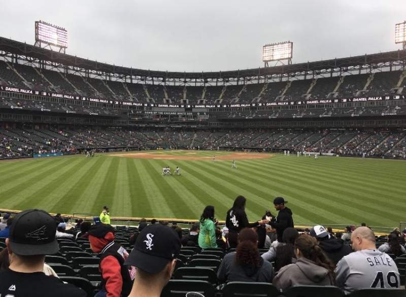 Guaranteed Rate Field, section: 101, row: 21, seat: 1