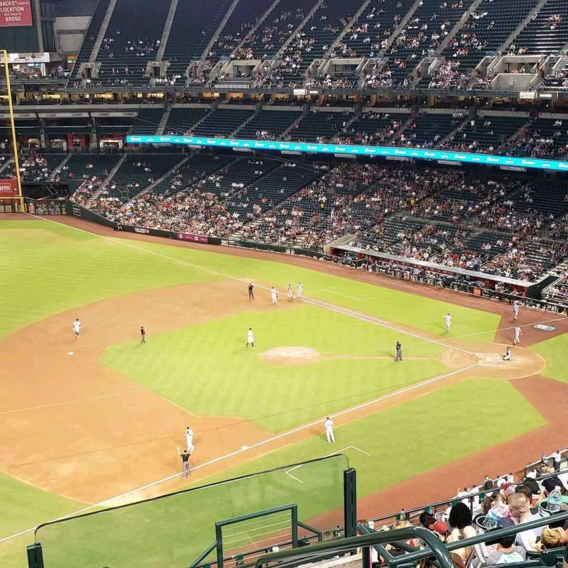 Chase Field, section: 326, row: 13, seat: 1