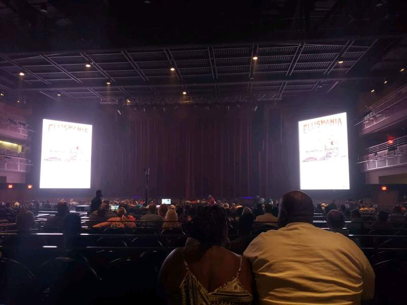 Seating view for The Joint at Hard Rock Las Vegas Section 101 Row Q