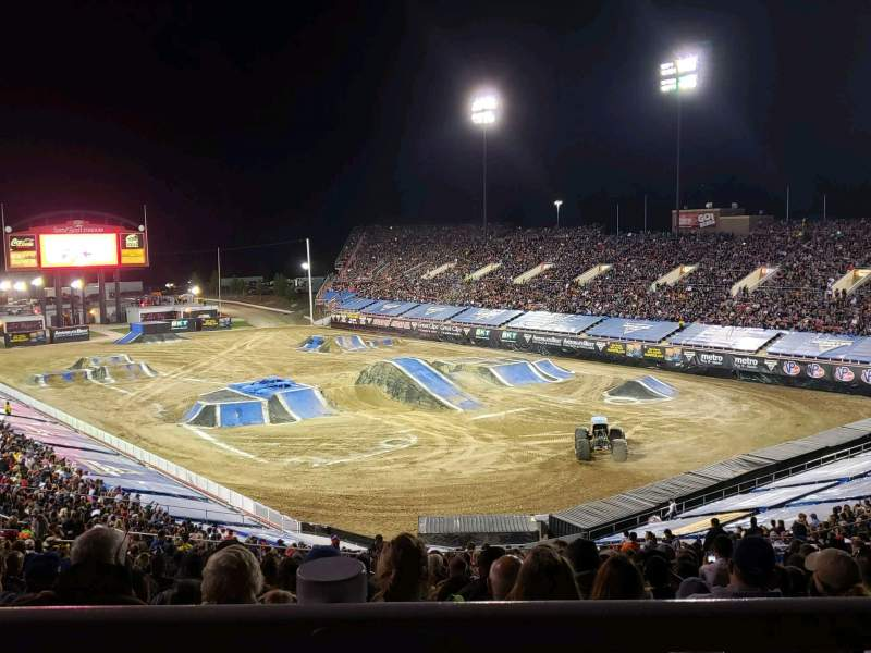 Seating view for Sam Boyd Stadium Section 320 Row 45 Seat 25